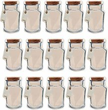 Hemoton 20pcs Mason Jar Bottles Bags Reusable