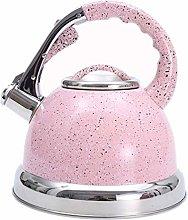 Hemoton 3. 5L Whistling Tea Kettle Stainless Steel