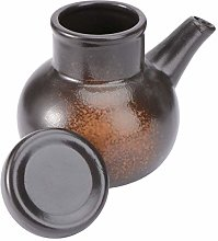 Hemoton 300ml Ceramic Soy Sauce Dispenser