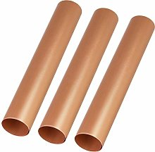 Hemoton 3Pcs Copper Grill Mat Non-Stick BBQ