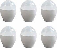 Hemoton 6 Pcs Microwave Egg Mini Poacher Egg Cup
