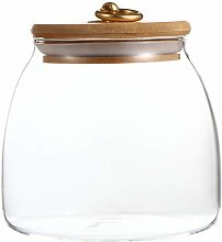 Hemoton Airtight Glass Canister Food Storage Jar