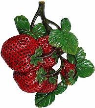 Hemoton Artificial Fruit Wall Decorations Resin
