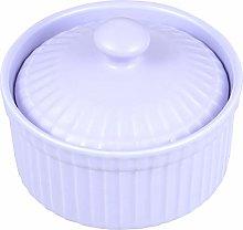 Hemoton Ceramic Ramekin Dishes Pudding Cup Baking
