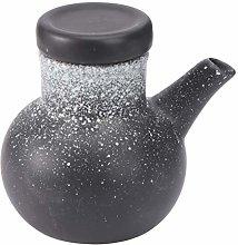 Hemoton Ceramic Soy Sauce Bottle Porcelain Vinegar