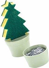 Hemoton Cleaning Scrub Sponge Scouring Stainless