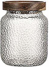 Hemoton Glass Food Storage Jar Clear Sealed