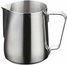Hemoton Milk Jug 150ml, 304 Stainless Steel Milk