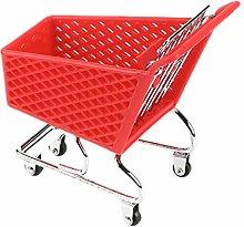 Hemoton Mini Supermarket Handcart Shopping Utility