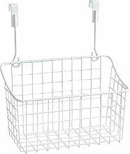 Hemoton Multifunction Cabinet Storage Basket Over