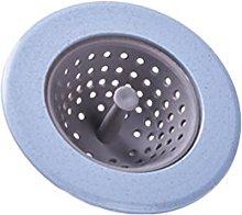 Hemoton Plastic Mesh Sink Strainer Round Basket