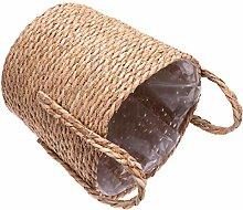 HEMOTON Seagrass Basket Planters Straw Woven