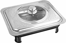Hemoton Stainless Steel Chafing Dish Food Warmer