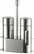 Hemoton Stainless Steel Dredge Spice Shaker