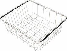Hemoton Stainless Steel Sink Drain Basket