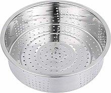 Hemoton Stainless Steel Steamer Basket Steam Tray