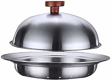 Hemoton Steamer Insert with Lid Stainless Steel
