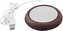 Hemoton USB Cup Warmer Coffee Mug Warmer Desktop