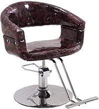 HEMOTONE Bar Stool Marble Pattern Hydraulic Barber