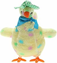 Hen Laying Eggs Plush Chicken Stuffed Toy Electric