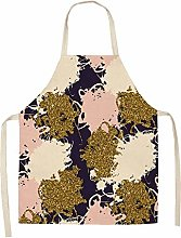 Henanyimeixiang Chef 1Pcs Simple Pink Gold Series