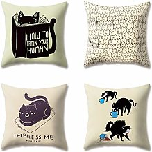 Hengjiang Animal Print Cushion Covers Soft Plush