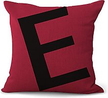 Hengjiang Cushion Cover Colorful English Letters