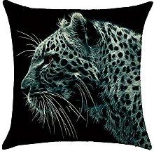 Hengjiang WEIANG Animal Cushion Cover Leopard Wolf