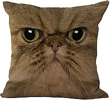 Hengjiang WEIANG Animal Face Sofa Cushion Cover
