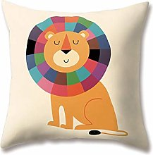 Hengjiang WEIANG Soft Plush Zoo Cushion Covers