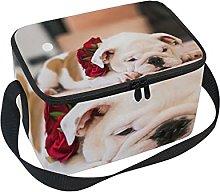 hengpai Bulldog Lunch Box Insulated Lunch Bag