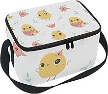 hengpai Chick_Pattern Lunch Box Insulated Lunch