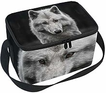hengpai Cool Wolf Handsome Young Male Lunch Box