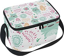 hengpai Cute Floral Bears Lunch Box Insulated