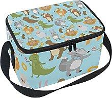 hengpai Cute Funny All Birds Animals Lunch Box