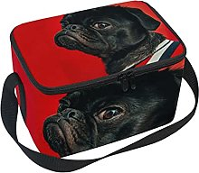 hengpai Funny Dog Lunch Box Insulated Lunch Bag
