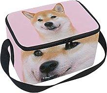 hengpai Shiba Inu Lunch Box Insulated Lunch Bag