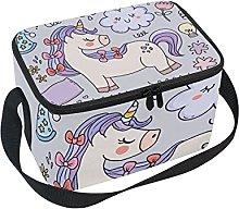 hengpai Unicorn Funny Gift Lunch Box Insulated