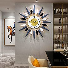 Hengqiyuan Extra Large Wall Clock for Living Room