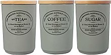 Henry Watson - Airtight Tea Coffee Sugar Canister