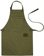 HENSE Amy Green Canvas Workshop Welders Apron For