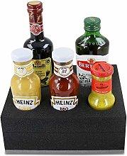 HeoSolution Vinegar/Oil and Sauce Holder for