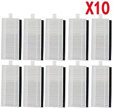 Hepa Filter Kit Side Brush Set for Eufy Robovac 30
