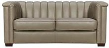 Hepburn Real Leather/Faux Leather 2 Seater Sofa