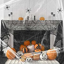 Heqishun Halloween Decoration Spider Cotton Set, 1