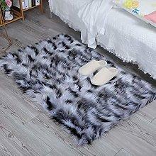 HEQUN Faux Fur Rug Soft Fluffy Rug, Shaggy Rugs
