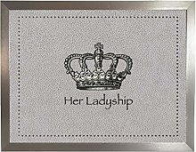 Her Ladyship Faux 4 Silver: Quality Cushioned Bean