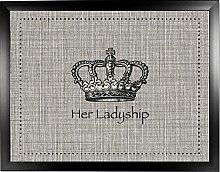 Her Ladyship Vintage Black: Quality Cushioned Bean