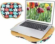 HERCHR Laptop Lap Desk, Portable Laptop Table
