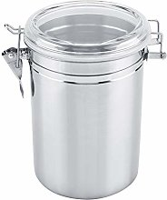 HERCHR Stainless Steel Coffee Canister, Airtight